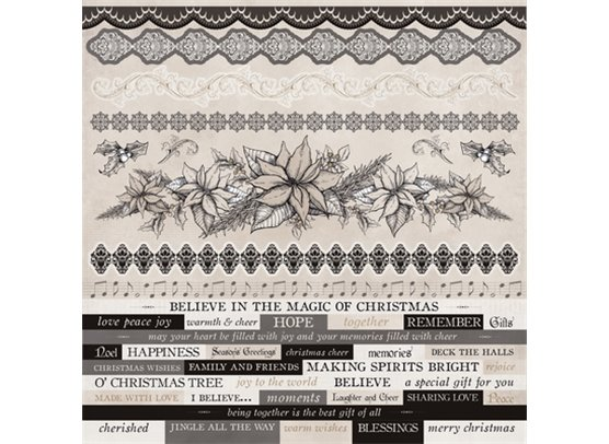 Christmas Edition Sticker Sheet