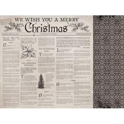 Christmas Edition - Christmas Tale mønsterpapir fra KaiserCraft