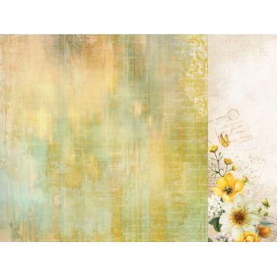 Golden Grove - Soft Moss mønsterpapir fra KaiserCraft