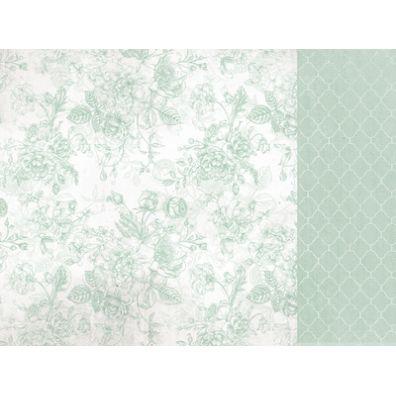 Sage and Grace - Mint mønsterpapir fra KaiserCraft