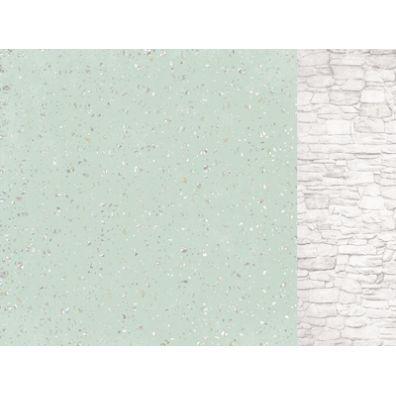 Sage and Grace - Granite mønsterpapir fra KaiserCraft
