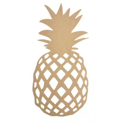 KaiserCraft BTP Wall Art Pineapple