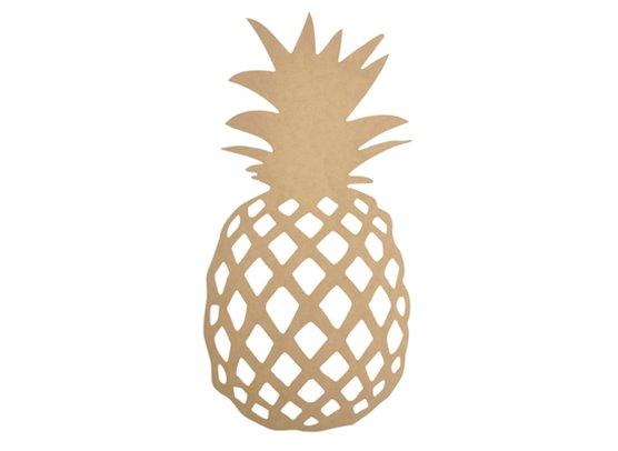 KaiserCraft BTP Wall Art Pineapple