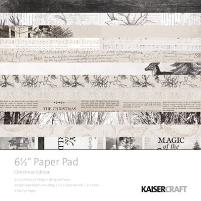 "KaiserCraft:Christmas Edition 6½x6½"" Paper Pad"