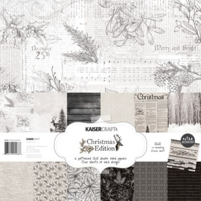 KaiserCraft Christmas Edition Paper Pack Kit