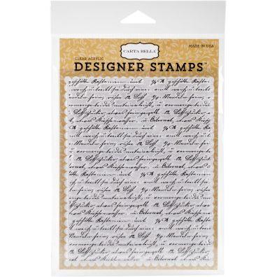 Carta Bella Clear Stamp Travel Journal A2