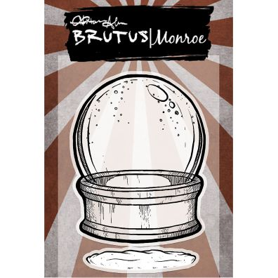 Brutus Monroe Clear Stamp Snowglobe