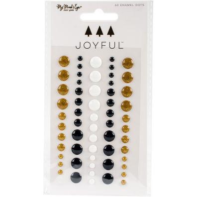 My Minds Eye Joyful Enamel Dots