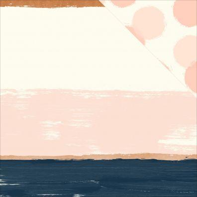 Blush - Brush mønsterpapir fra My Minds Eye