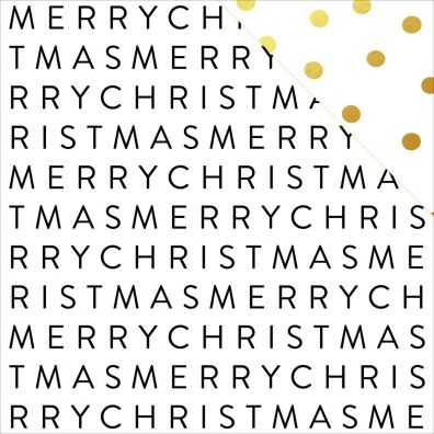 Joyful - Merry Christmas mønsterpapir fra My Minds Eye