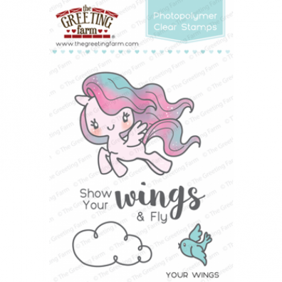 The Greeting Farm Clear Stamps - Your Wings