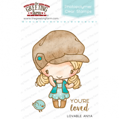 The Greeting Farm Clear Stamps - Lovable Anya