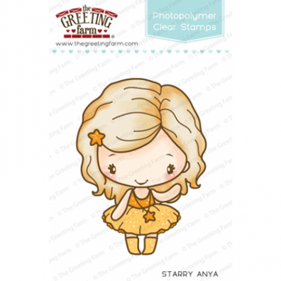 The Greeting Farm Clear Stamps - Starry Anya