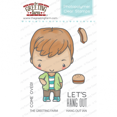 The Greeting Farm Clear Stamps - Hang Out Ian