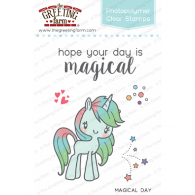 The Greeting Farm Clear Stamps - Magical Day