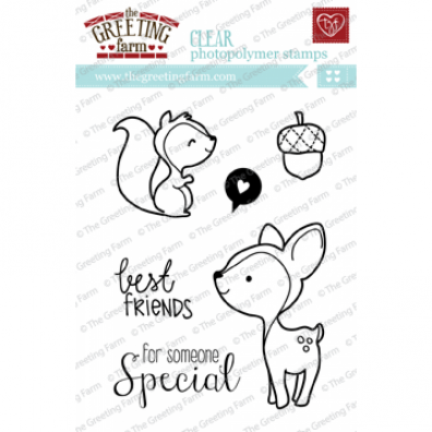The Greeting Farm Clear Stamps - Wood Friends