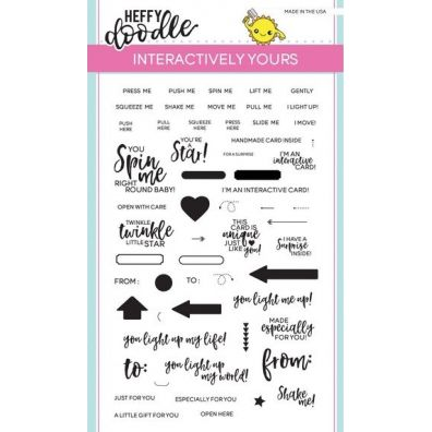 Heffy Doodle Clear Stamps - Interactively Yours