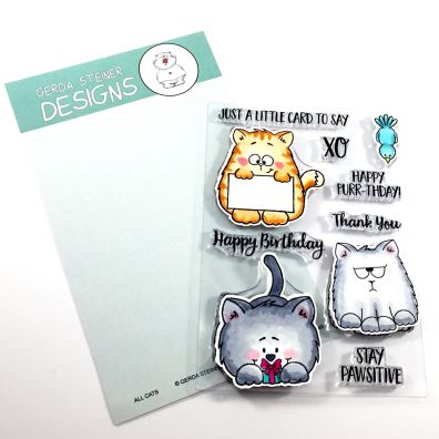 Gerda Steiner Designs Clear Stamps - All Cats