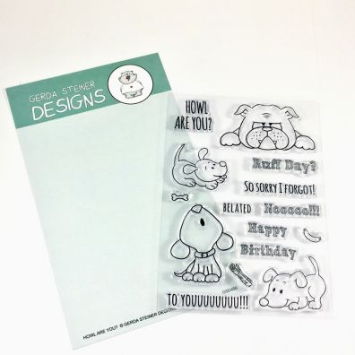 Gerda Steiner Designs Clear Stamps - Howl Are You?