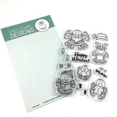 Gerda Steiner Designs Clear Stamps - Snow Angel
