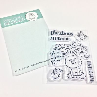 Gerda Steiner Designs Clear Stamps - Little Christmas Reindeer