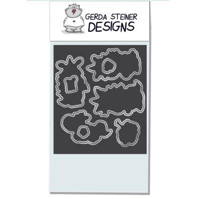 Gerda Steiner Designs Dies - Moody Unicorns