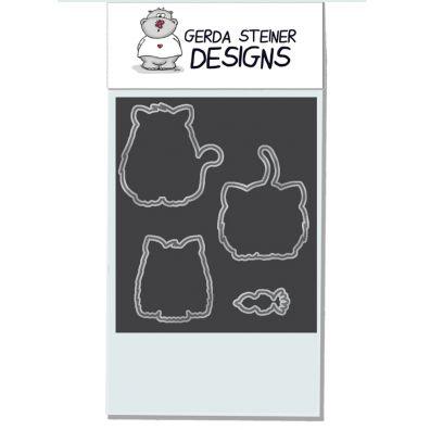 Gerda Steiner Designs Dies - All Cats