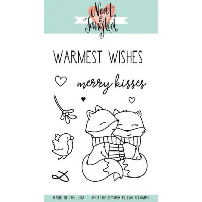 Neat & Tangled Clear Stamp - Merry Kisses