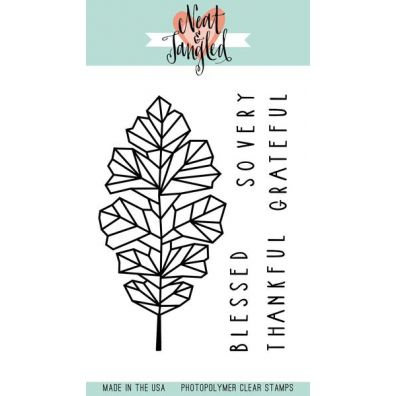 Neat & Tangled Clear Stamp - Oak Leaf