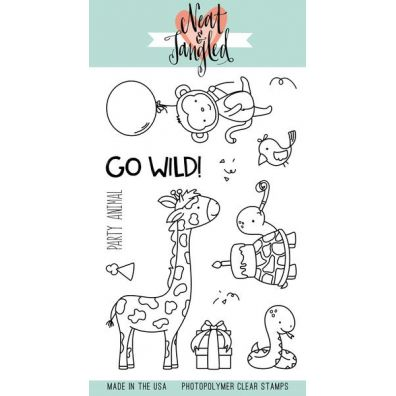 Neat & Tangled Clear Stamp - Wild Ones