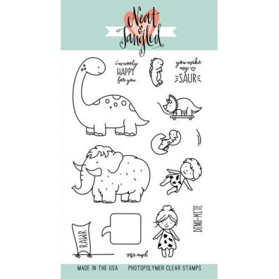 Neat & Tangled Clear Stamp - Prehistoric