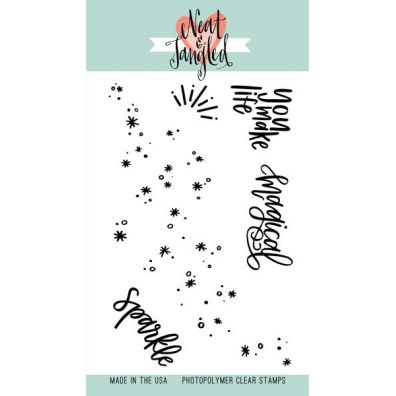 Neat & Tangled Clear Stamp - Fairy Dust