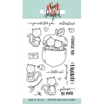 Neat & Tangled Clear Stamp - My Favorite Nut