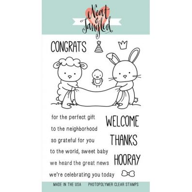Neat & Tangled Clear Stamp - Itty Bitty Welcoming Committee