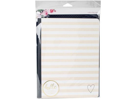 """Webster's Pages Color Crush Composition Planner Notebook 7.5""""X9.75"""""""