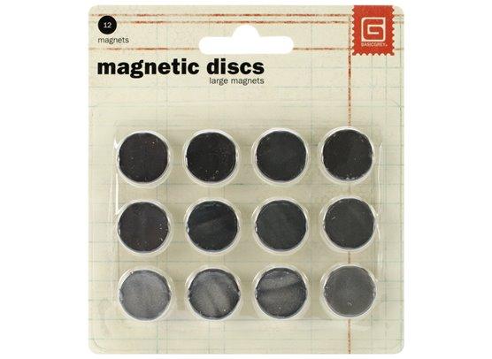 Basic Grey Magnet Discs large
