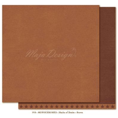Monochromes - Denim & Friends - Mønsterpapir fra Maja Design