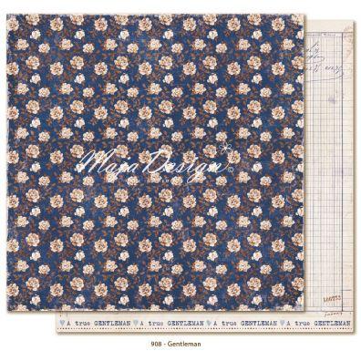 Denim & Friends - Gentleman Mønsterpapir fra Maja Design