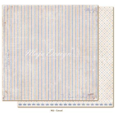 Denim & Friends - Casual Mønsterpapir fra Maja Design