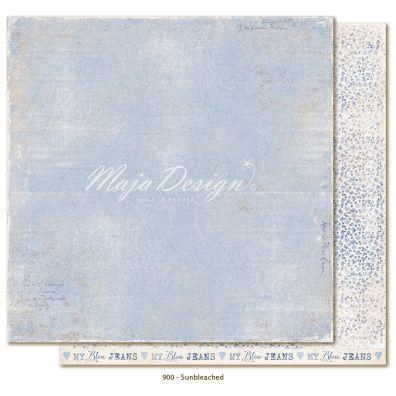 Denim & Friends - Sunbleached Mønsterpapir fra Maja Design