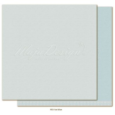 Monochromes - Shades of Winterdays Ice Blue Mønsterpapir fra Maja Design