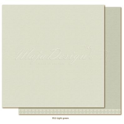 Monochromes - Shades of Winterdays Light Green Mønsterpapir fra Maja Design