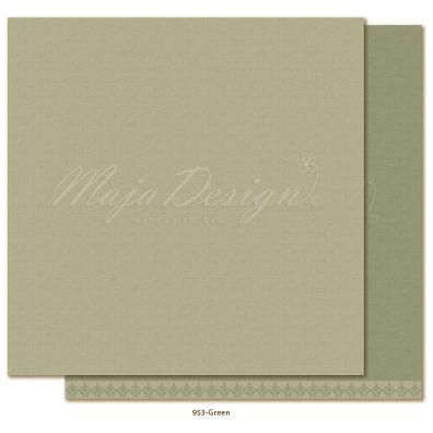 Monochromes - Shades of Winterdays Green Mønsterpapir fra Maja Design