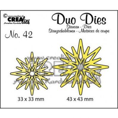 Crealies Duo Dies - Stjerner