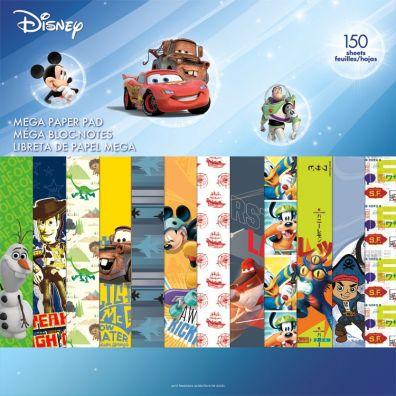 Disney Boy Mega Paper Pad