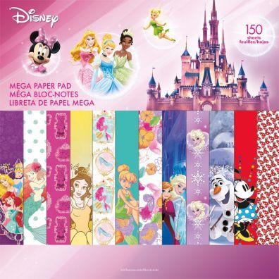 Disney Girl Mega Paper Pad
