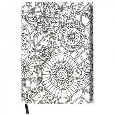 Wellspring Coloring Journal - Geometric
