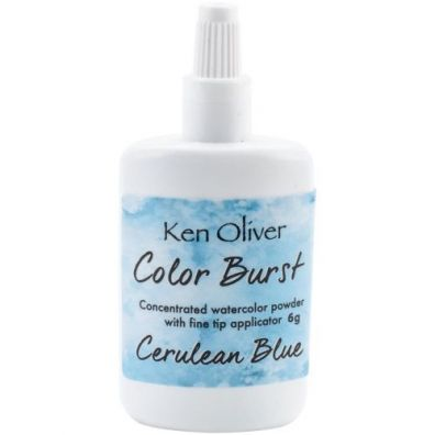 Color Burst - Cerulean Blue