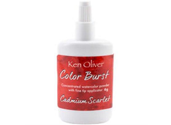Color Burst - Cadmium Scarlet