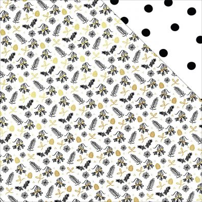 Joyful - Pinecones & Holly mønsterpapir fra My Minds Eye